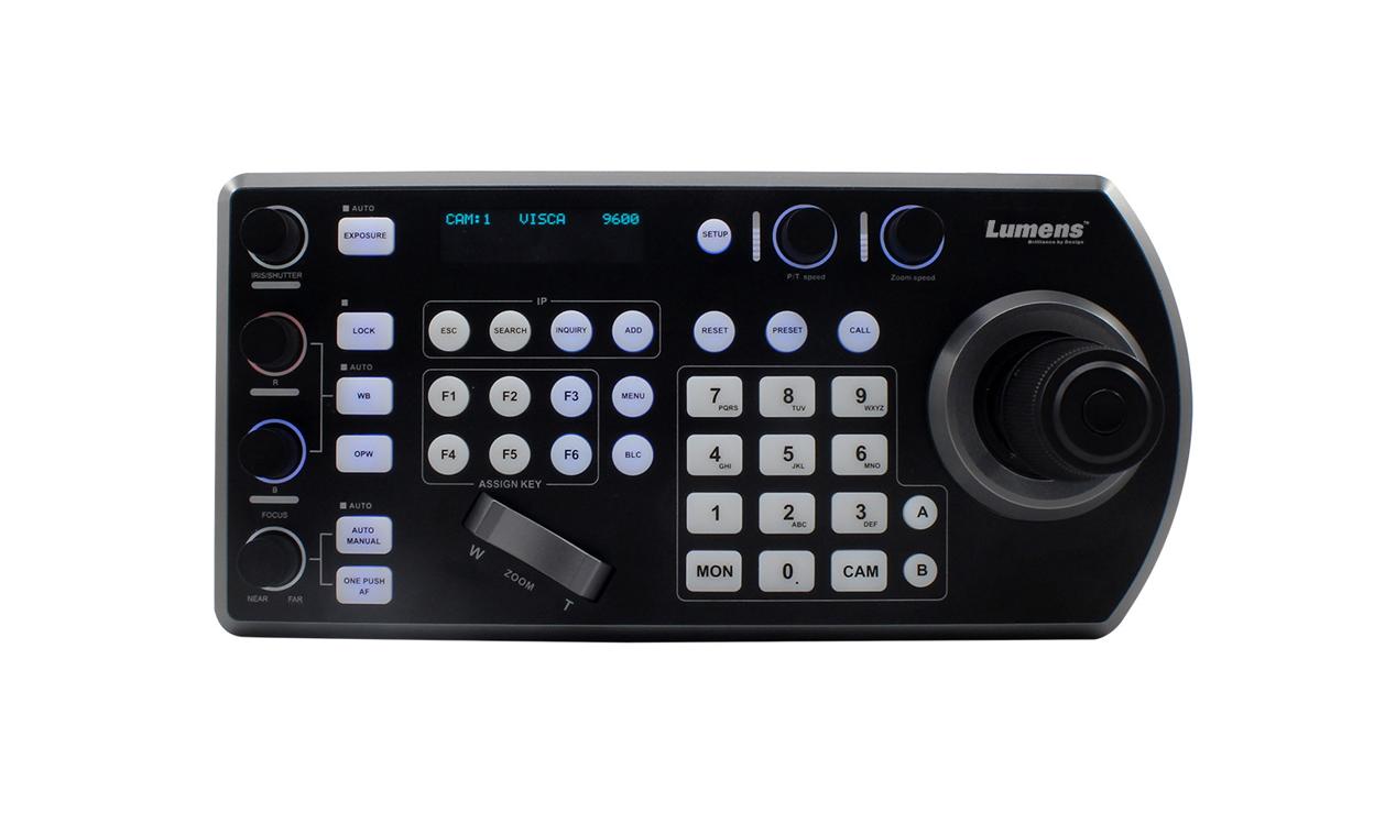 Controlador de cámaras Lumens